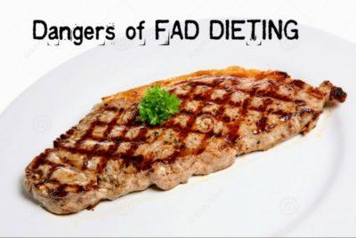 Dangers Fad Dieting