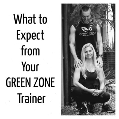 What To Expect Green Zone Trainer