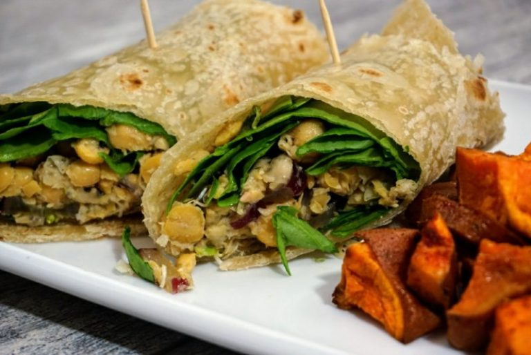Vegan Chickpea Wrap
