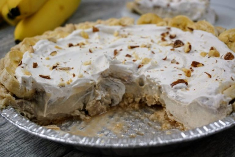 Green Zone Banana Cream Protein Pie