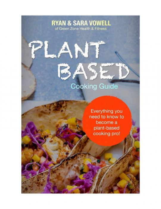 Plant Based Cooking Guide book cover