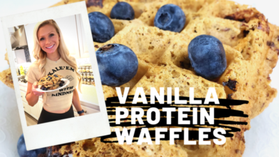 Green Zone Fitness Protein Waffles