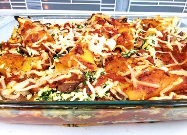 Mushroom Tofu Lasagna By Green Zone Fitness