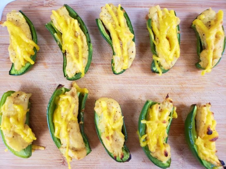 Green Zone Fitness Loaded Jalapeno Poppers