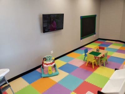 Green Zone Fitness Child Care Room