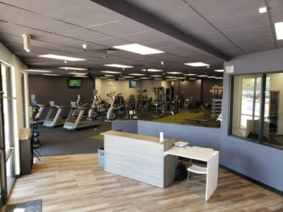 Green Zone Fitness Private Gym Lobby